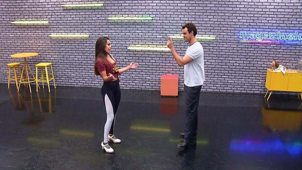 Confira o ensaio de Joaquim Lopes para o 'Dança dos Famosos'