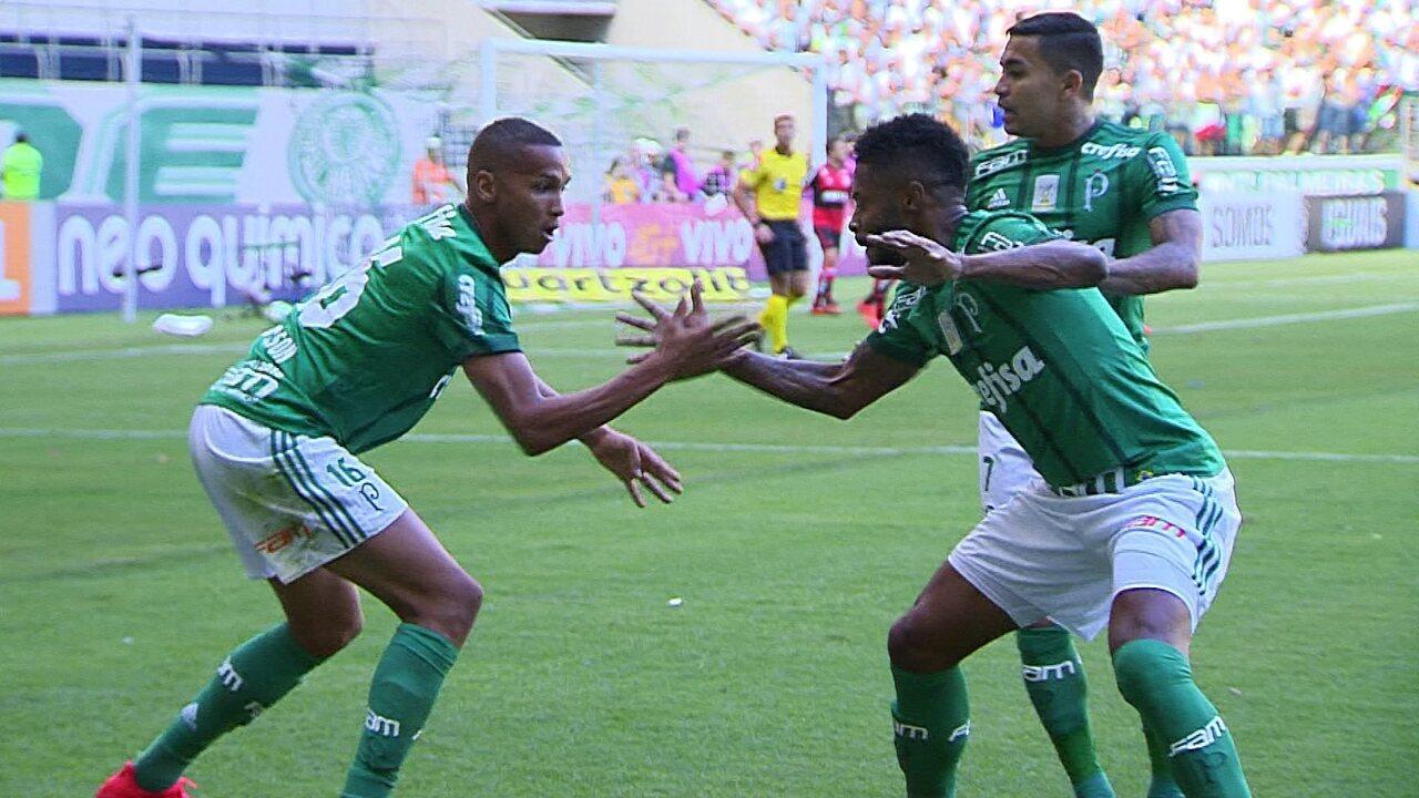 Melhores momentos: Palmeiras 2 x 0 Flamengo pela 34ª rodada do Brasileirão