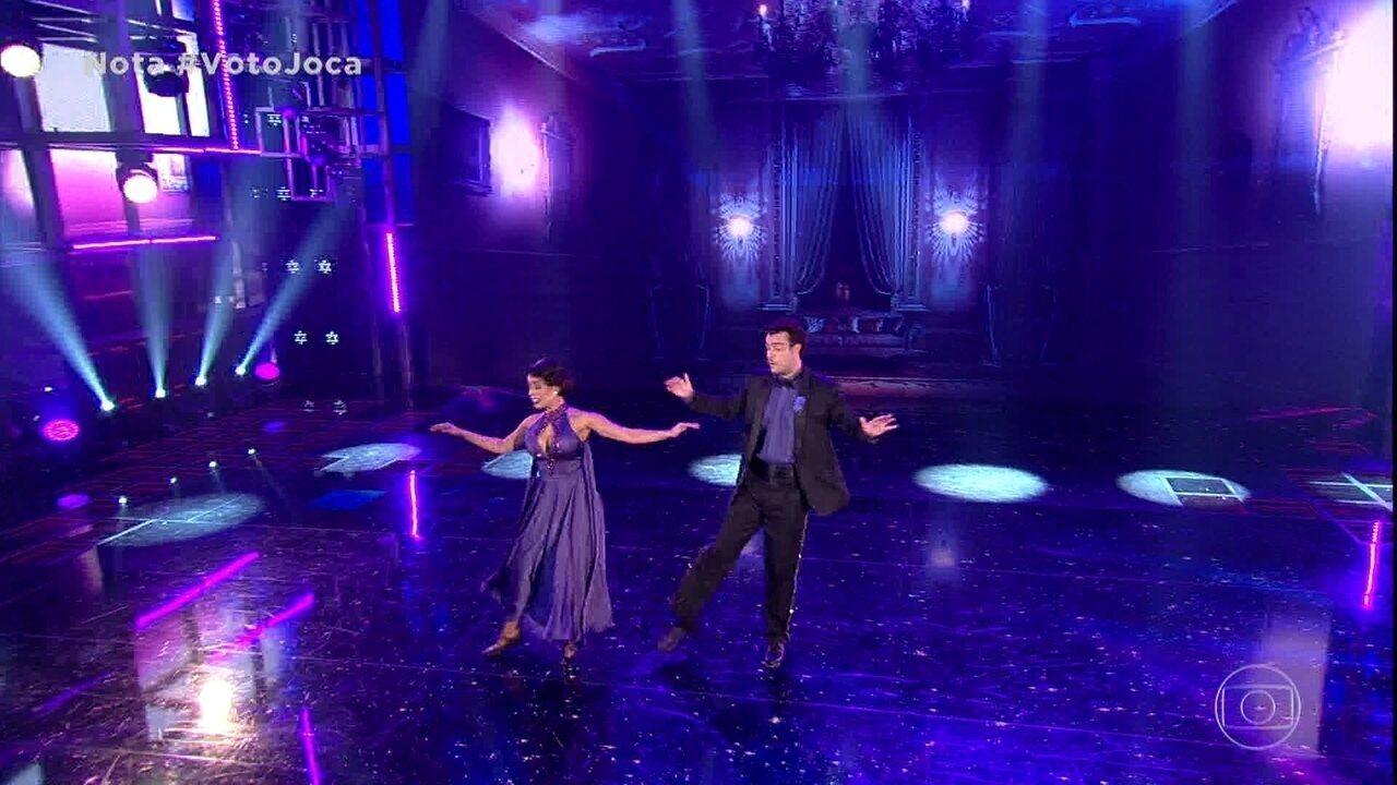 Joaquim Lopes e Tatiana empolgam a plateia com foxtrote