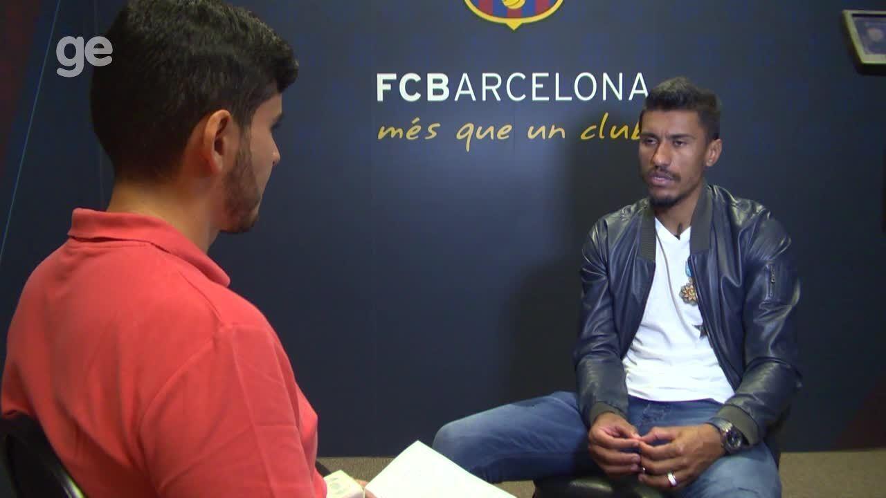 Paulinho cala questionamentos e conta que Neymar o influenciou na ... ca5a8c4ff8166