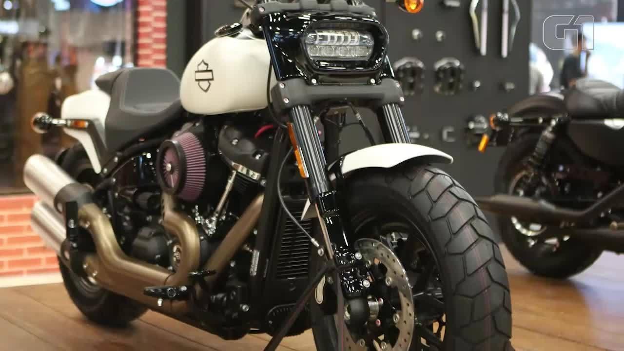 Harley-Davidson renova linha Softail e traz novas Fat Bob e Fat Boy ao Brasil