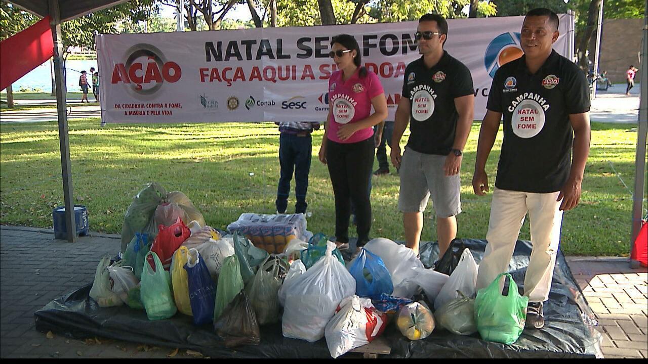 Empresas promovem ações para a Campanha Natal sem Fome