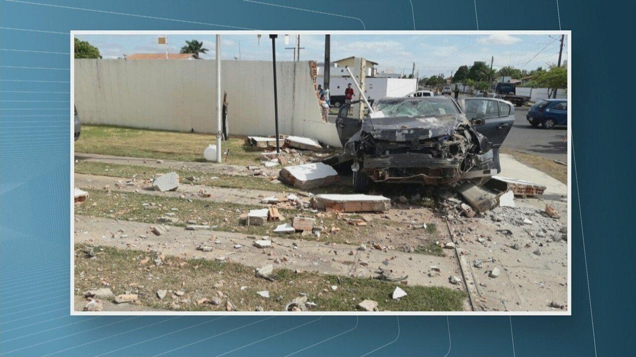 Acidentes de trânsito causam duas mortes neste fim de semana em Roraima