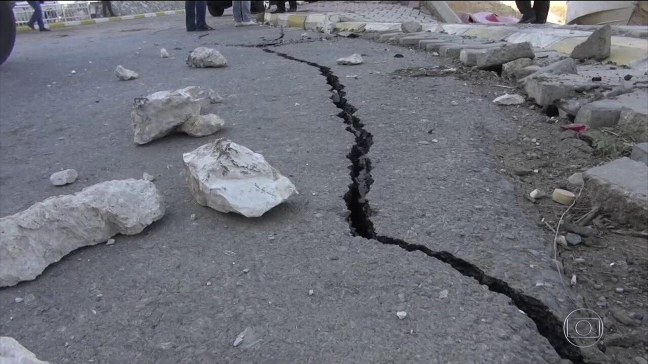Terremoto na fronteira do Irã com Iraque é o mais mortal deste ano