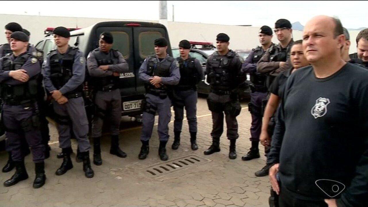 Operação da polícia prende 26 pessoas em Baixo Guandu, ES
