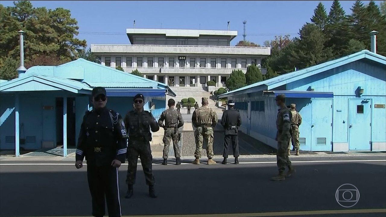 Soldado deixa Coreia do Norte em fuga pela zona desmilitarizada entre as duas Coreias