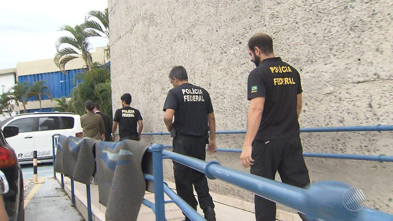 Polícia Federal cumpre três mandados de busca e apreensão em Salvador