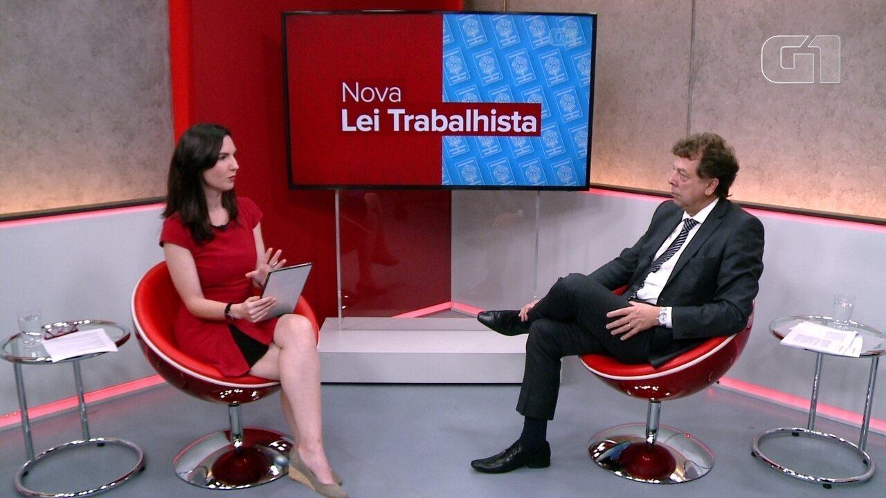 Assista a íntegra do programa ao vivo sobre a nova lei trabalhista