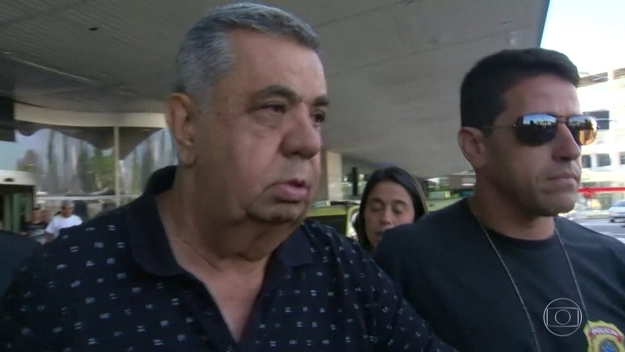 Jorge Picciani (PMDB) é conduzido coercitivamente para prestar depoimento na Polícia Federal