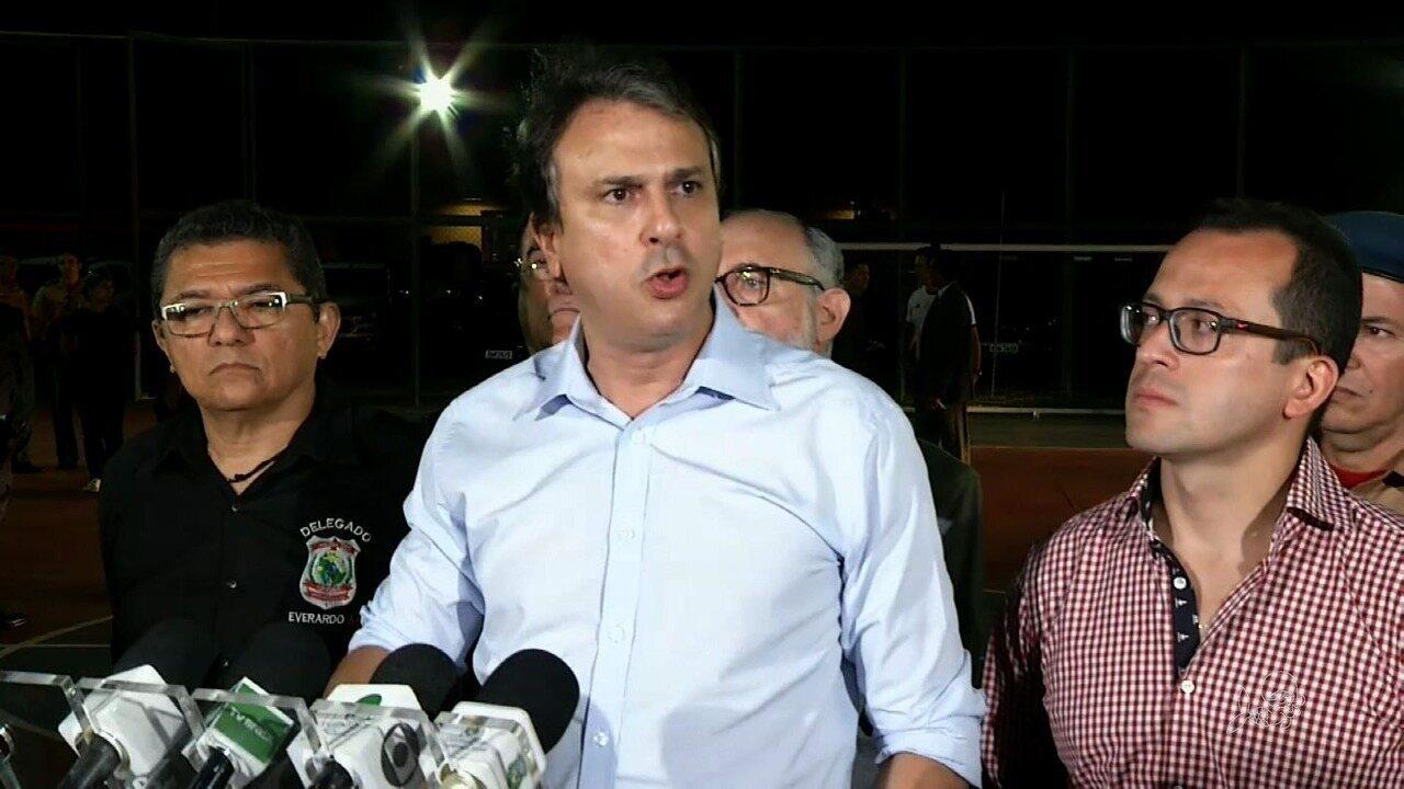 Camilo diz que não há falhas no local onde houve chacina de adolescentes no Ceará