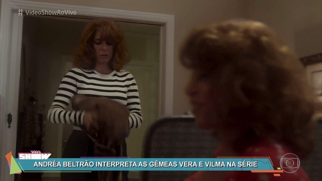 Andrea Beltrao Nua andréa beltrão aparece em dose dupla em 'cidade proibida'