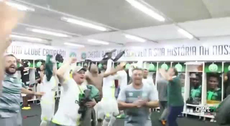 A grande festa da Chapecoense na Serie A do Brasil — VÍDEO