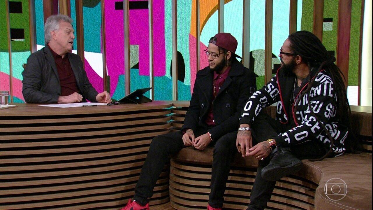 Emicida e Rael contam como tiraram o rap do gueto e ampliaram o alcance de seus trabalhos