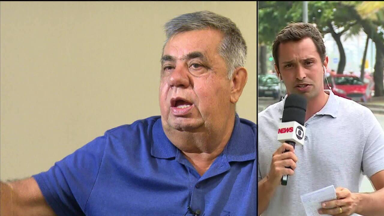 Jorge Picciani pede licença da Alerj até fevereiro para cuidar de sua defesa