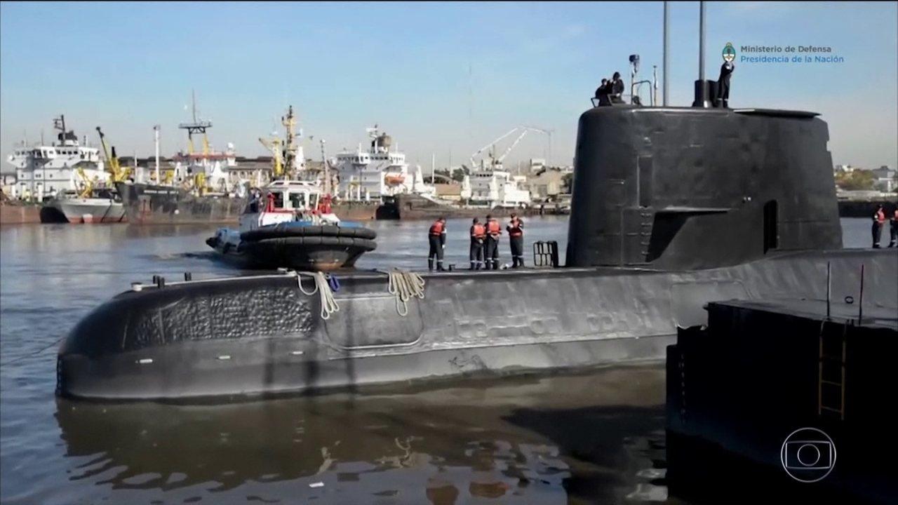 Equipes de resgate correm contra o tempo para encontrar o submarino argentino