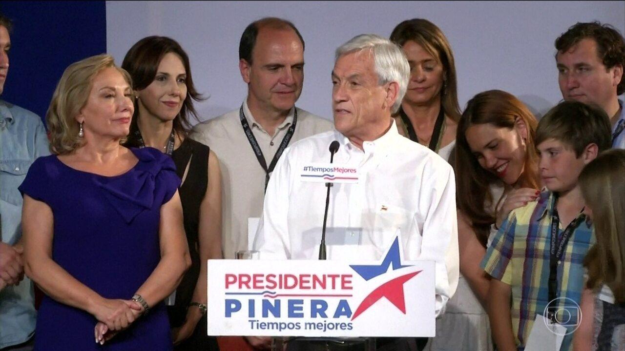 Chilenos definem candidatos para 2º turno das eleições presidenciais