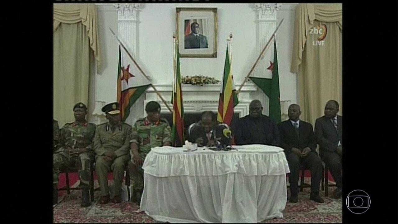 Ditador Mugabe ignora ultimato e se recusa a deixar o cargo