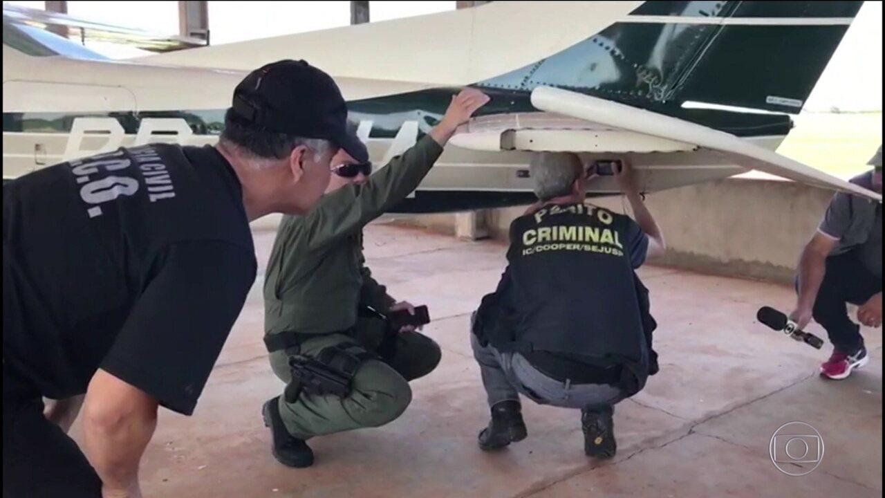 Uso de aviões clandestinos é alvo de operação no interior de MS