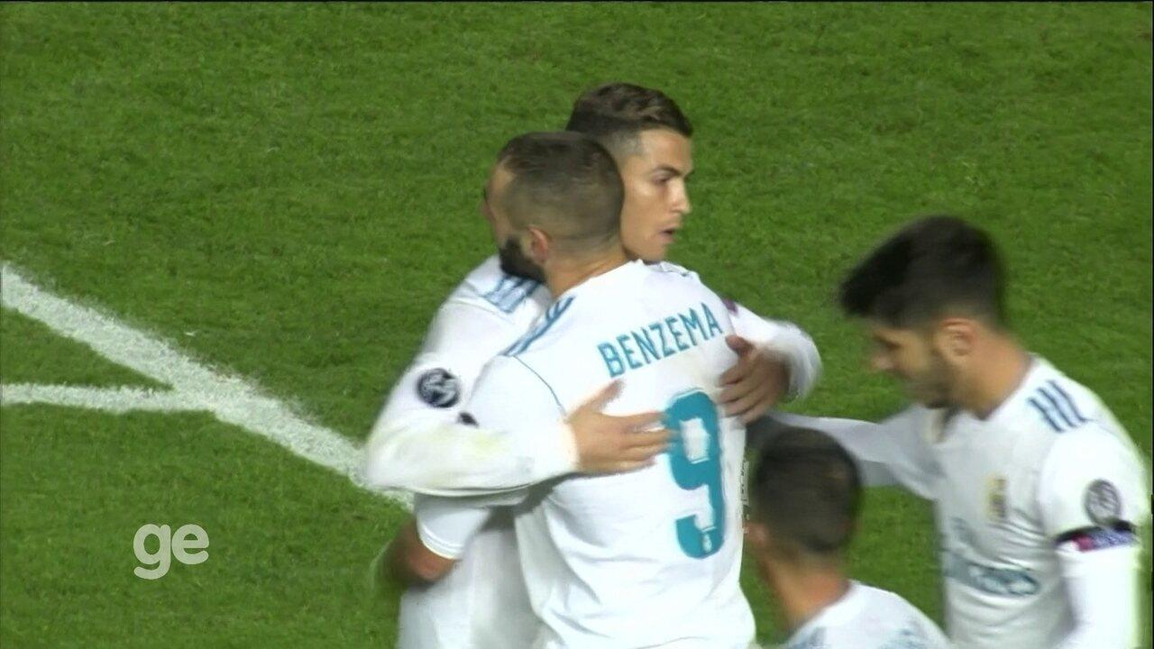 Veja o gol de Felipe contra o Besiktas, na Champions, a partir de 10m45s do vídeo