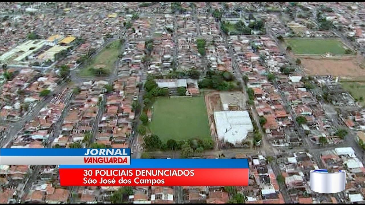 Trinta policiais civis são denunciados por envolvimento com o tráfico em São José