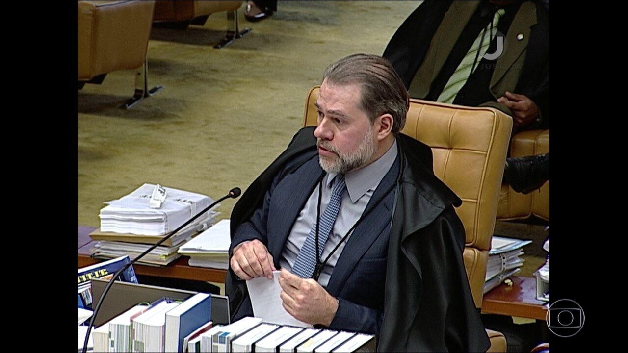 Toffoli pede vista sobre restrições ao foro privilegiado de políticos