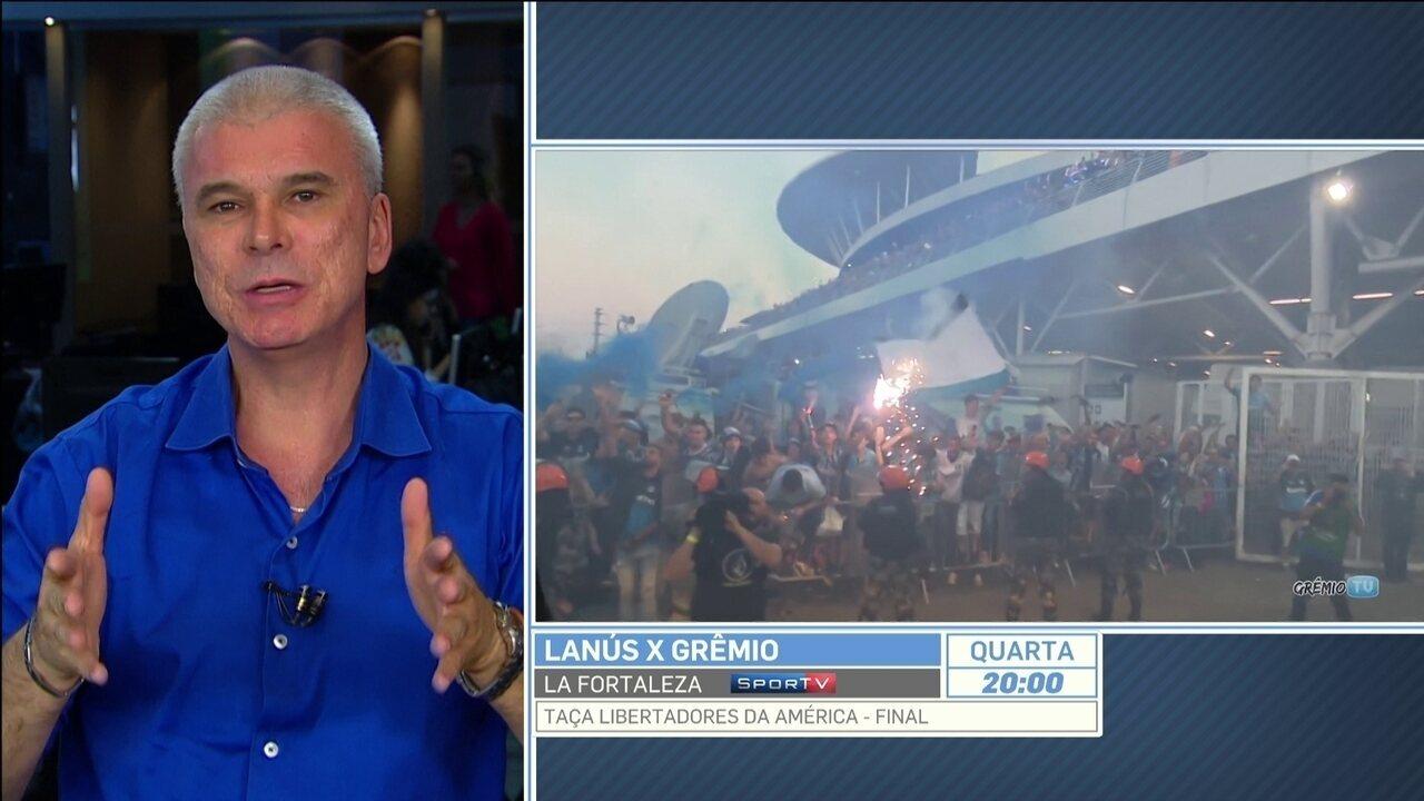 Conmebol nega pedido do Grêmio
