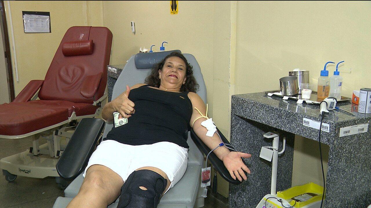Repórteres da TV Paraíba participam da Semana Nacional do Doador Voluntário de Sangue