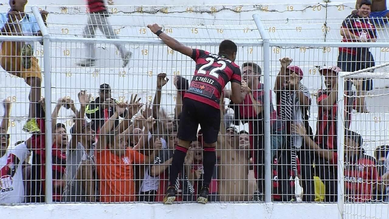 Tréllez marca gol heróico contra a Ponte Preta