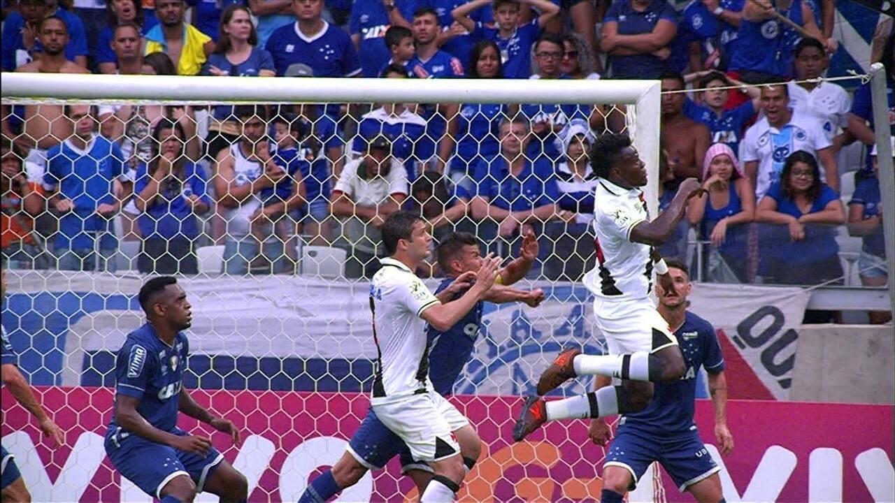 b26e8b61da Melhores momentos  Cruzeiro 0 x 1 Vasco pela 37ª rodada do Brasileirão