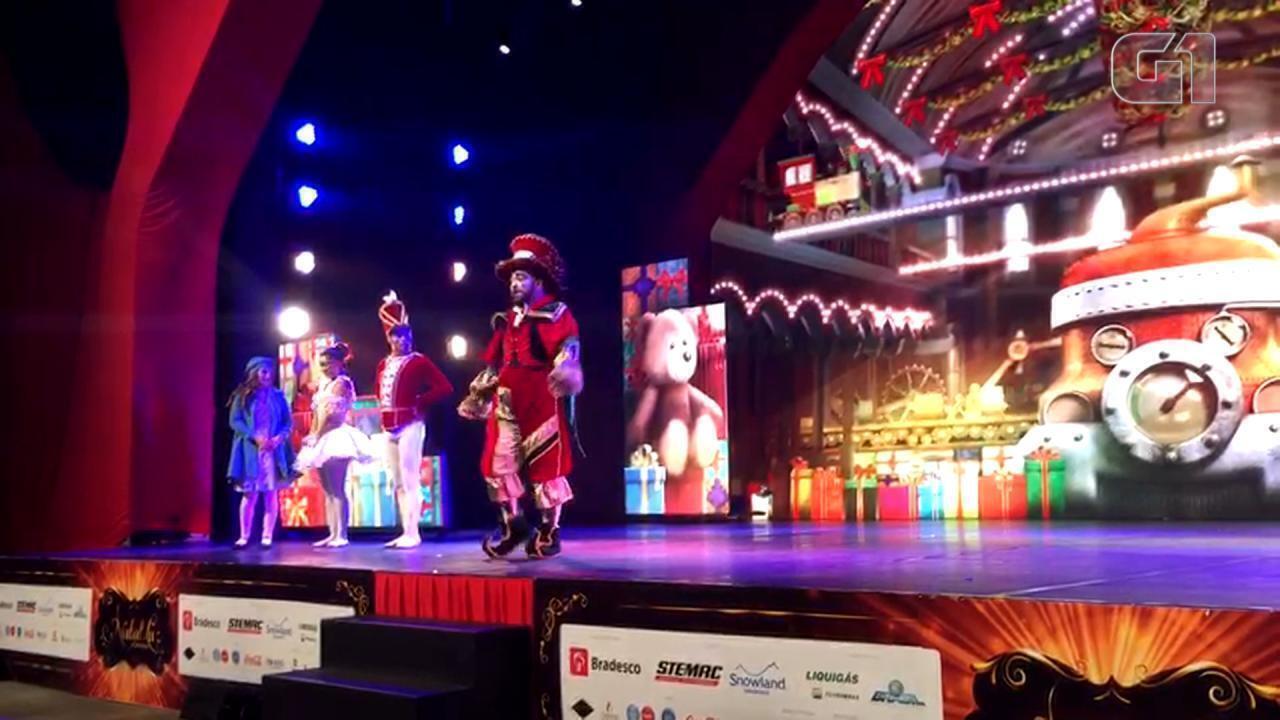 Espetáculo Natal Pelo Mundo encanta público no Natal Luz de Gramado