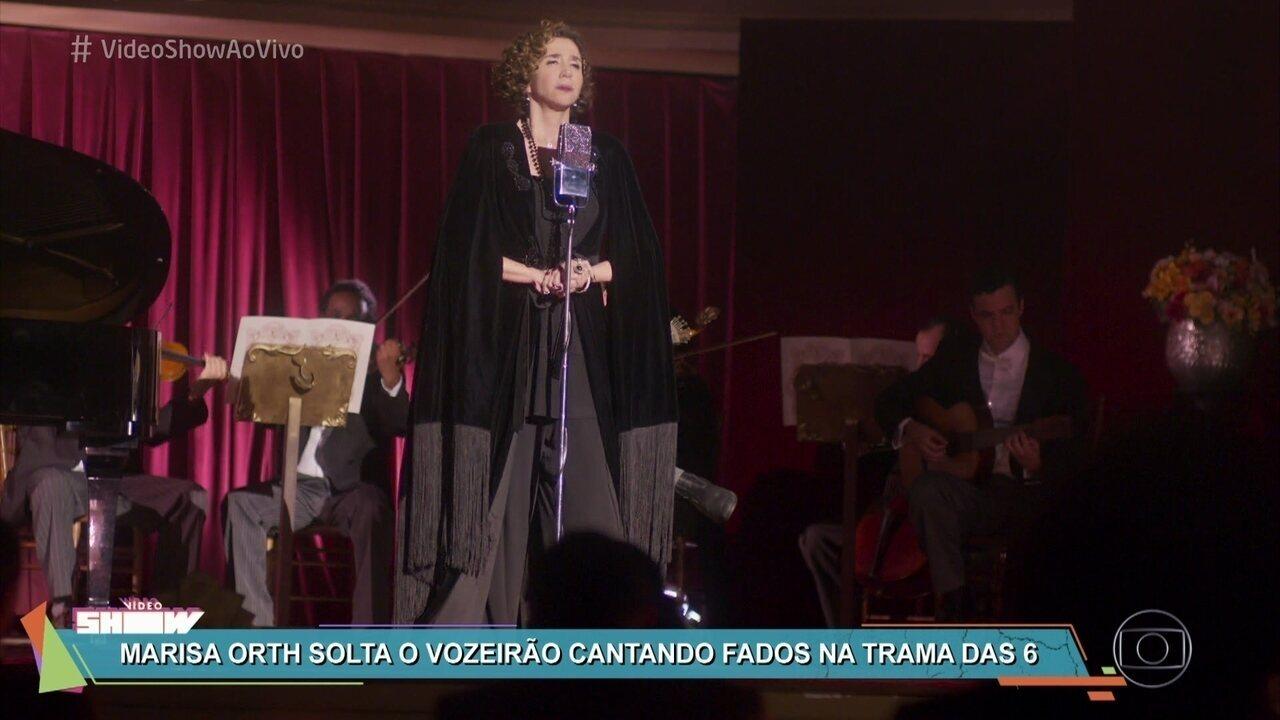 Marisa Orth solta a voz no recital de Celeste Hermínia