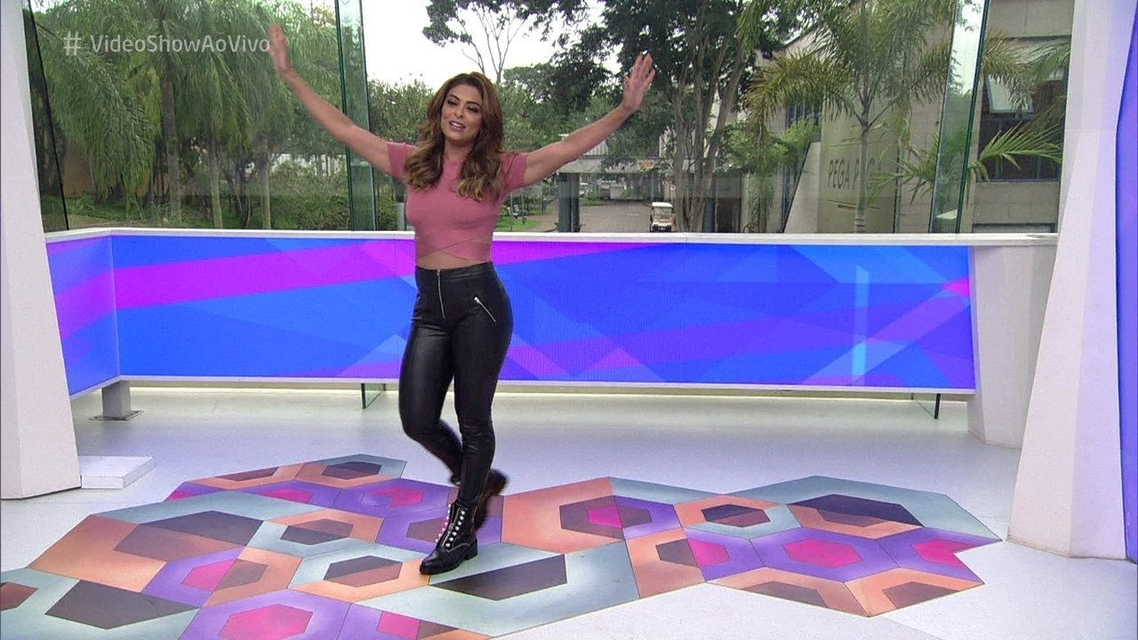 Juliana Paes toma conta do 'Vídeo Show' nesta quarta