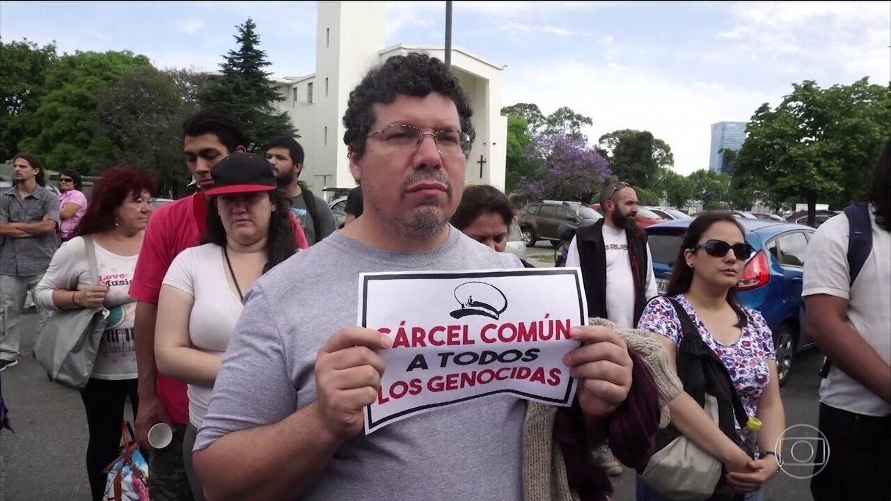Justiça condena responsáveis por jogar opositores em rio na ditadura militar na Argentina