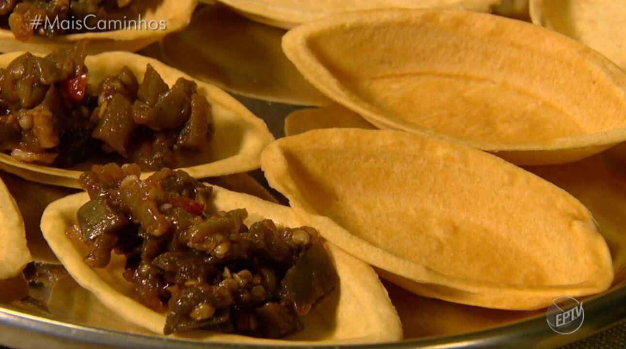 barquinha recheada é destaque no 'Segredos da Cozinha'