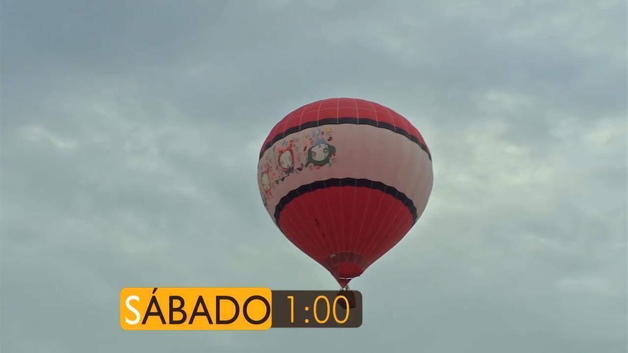 É Bem Mato Grosso deste sábado tem muito samba e um passeio incrível de Balão