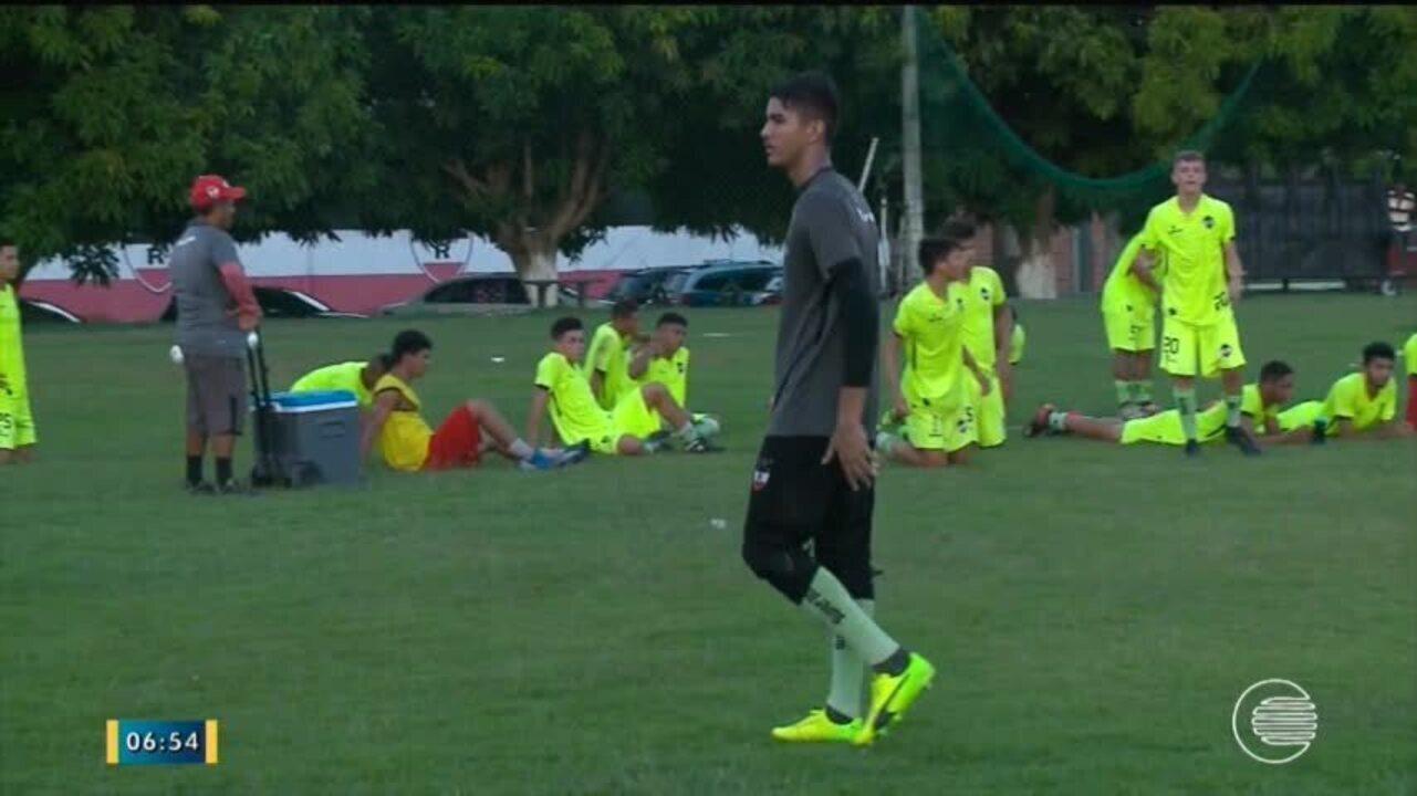 River-PI se prepara para Copa São Paulo de Futebol Junior 2018 bddaae007cb55