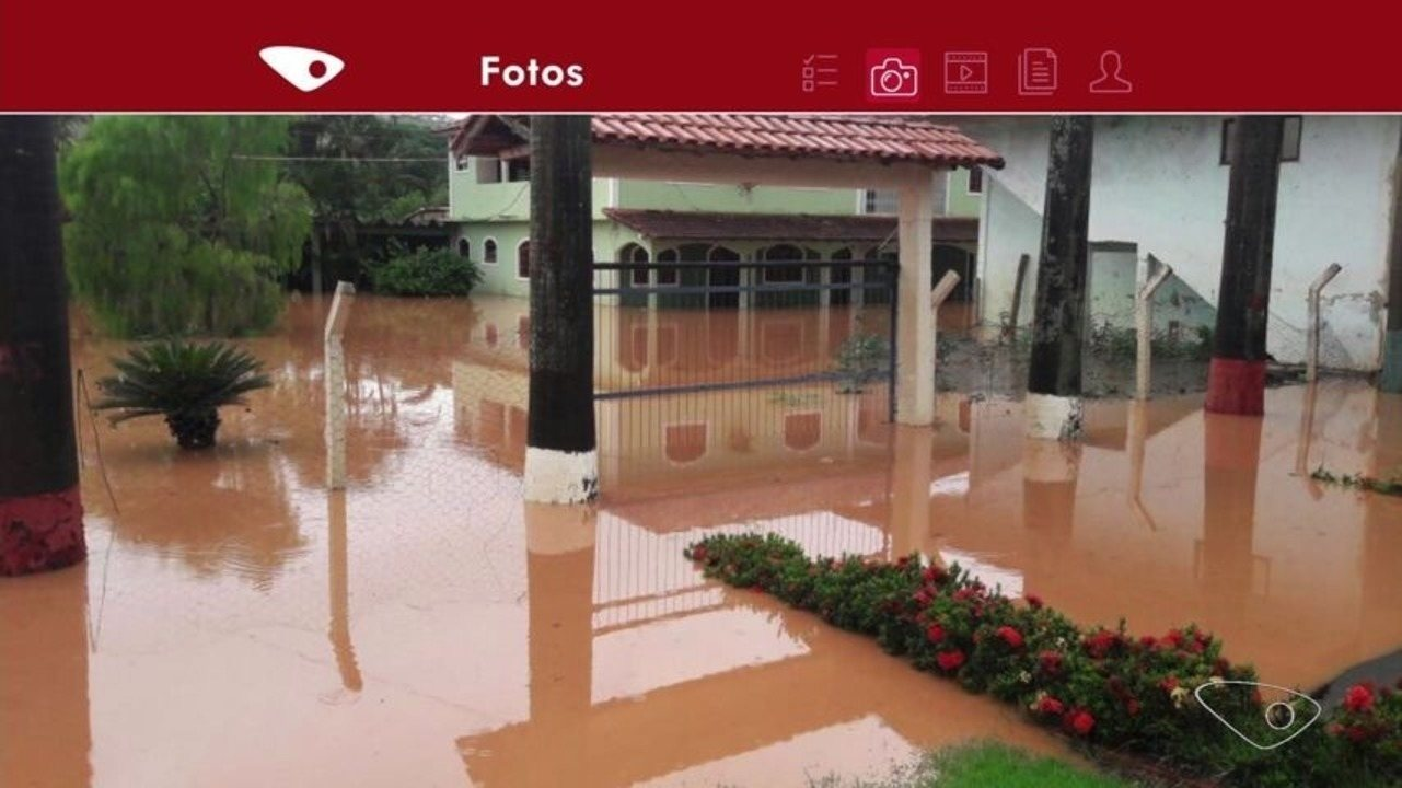 Chuva no ES desaloja famílias, causa quedas de árvores, barreiras, muros e prejuízos de No