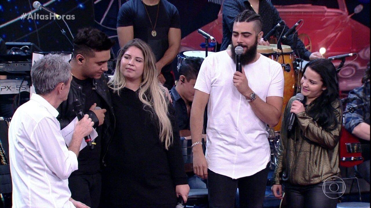 Marília Mendonça e Henrique falam de Juliano