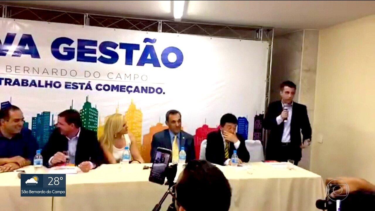 Denúncia mostra secretário chefiando quadrilha em São Bernardo