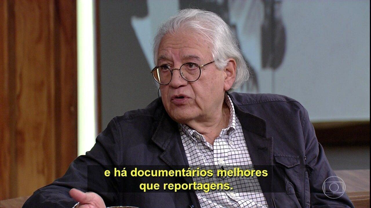 Patricio Guzmán fala que o principal para um documentarista é ver além do que todos vêem