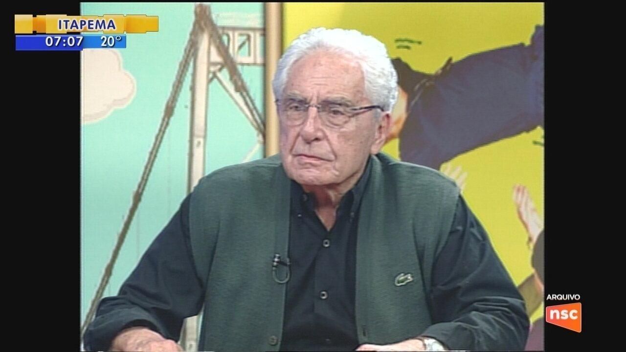 Ex-vice-governador de SC Victor Fontana morre aos 101 anos