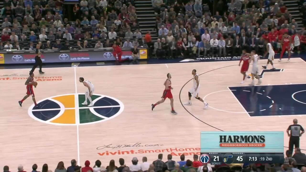 Melhores momentos: Utah Jazz 116 x 69 Washington Wizards pela NBA