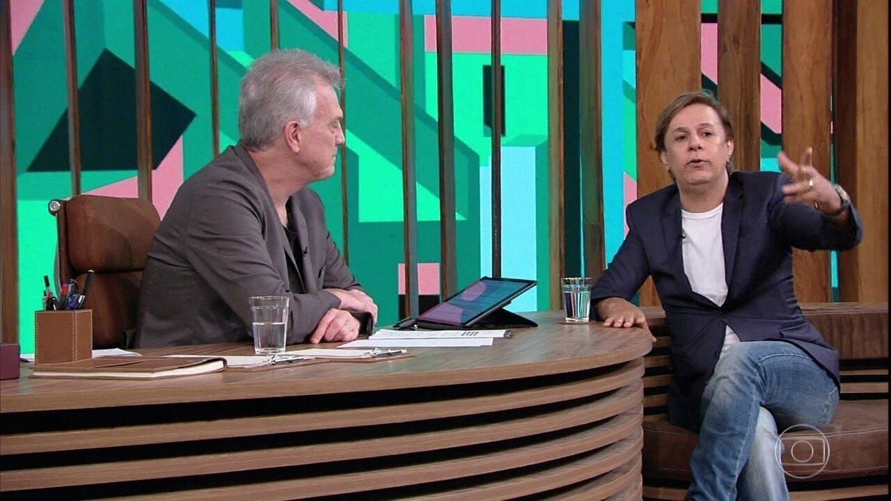 Tom Cavalcante fala sobre o início da carreira e sua admiração por Chico Anysio