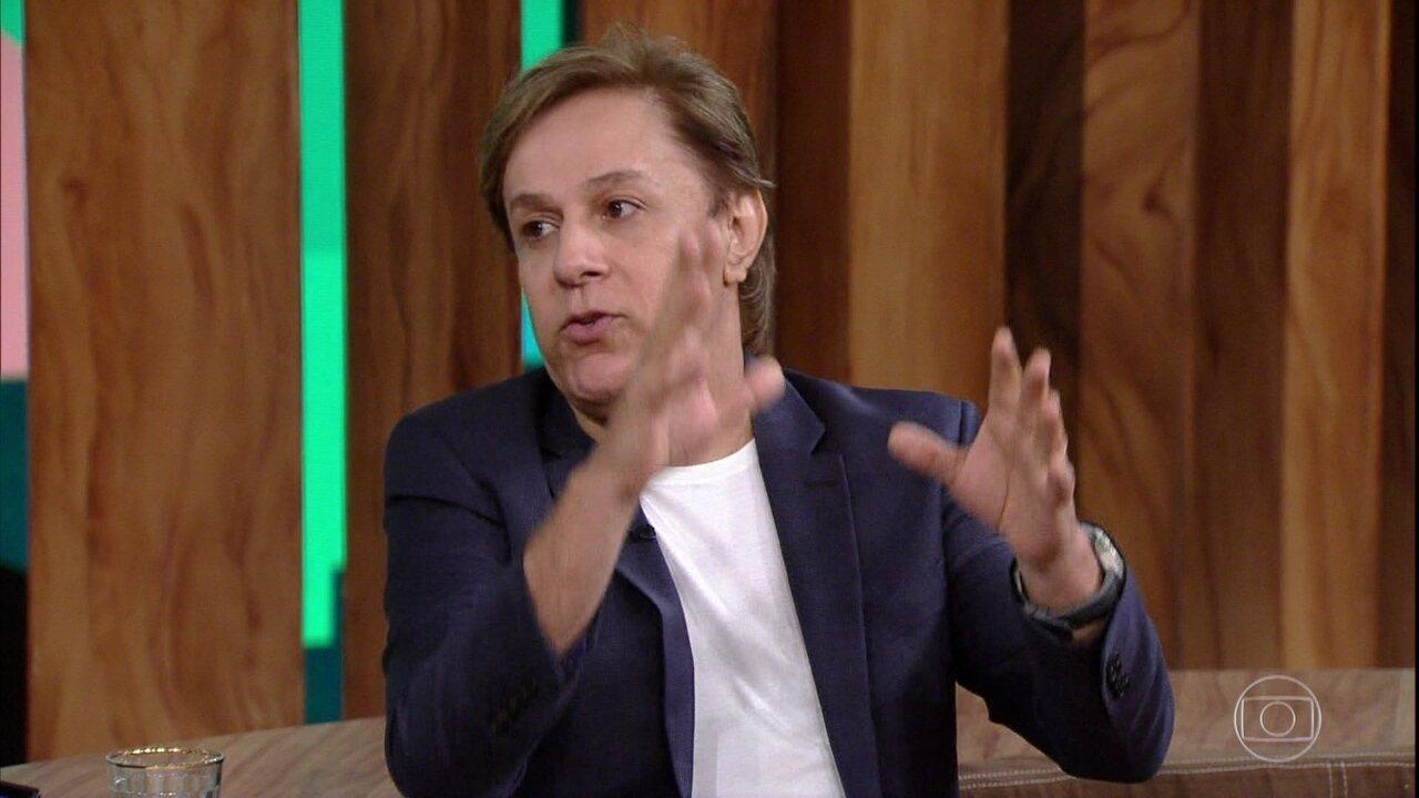 Cavalcante fala sobre filme do 'Sai de Baixo' e temporada em Los Angeles