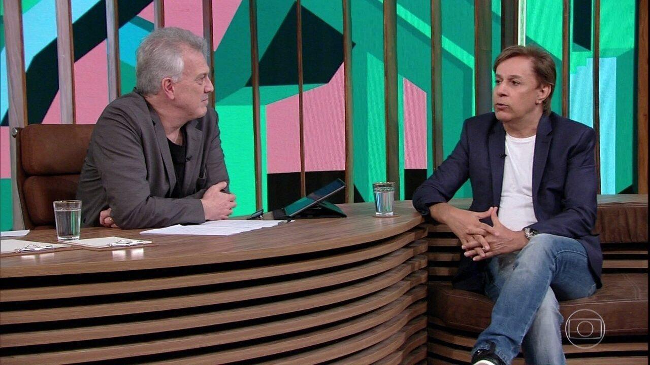 Tom Cavalcante fala sobre amizade com Roberto Carlos