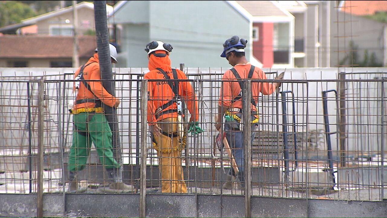 Setor da construção civil apresentou crescimento pela primeira vez em quatro anos