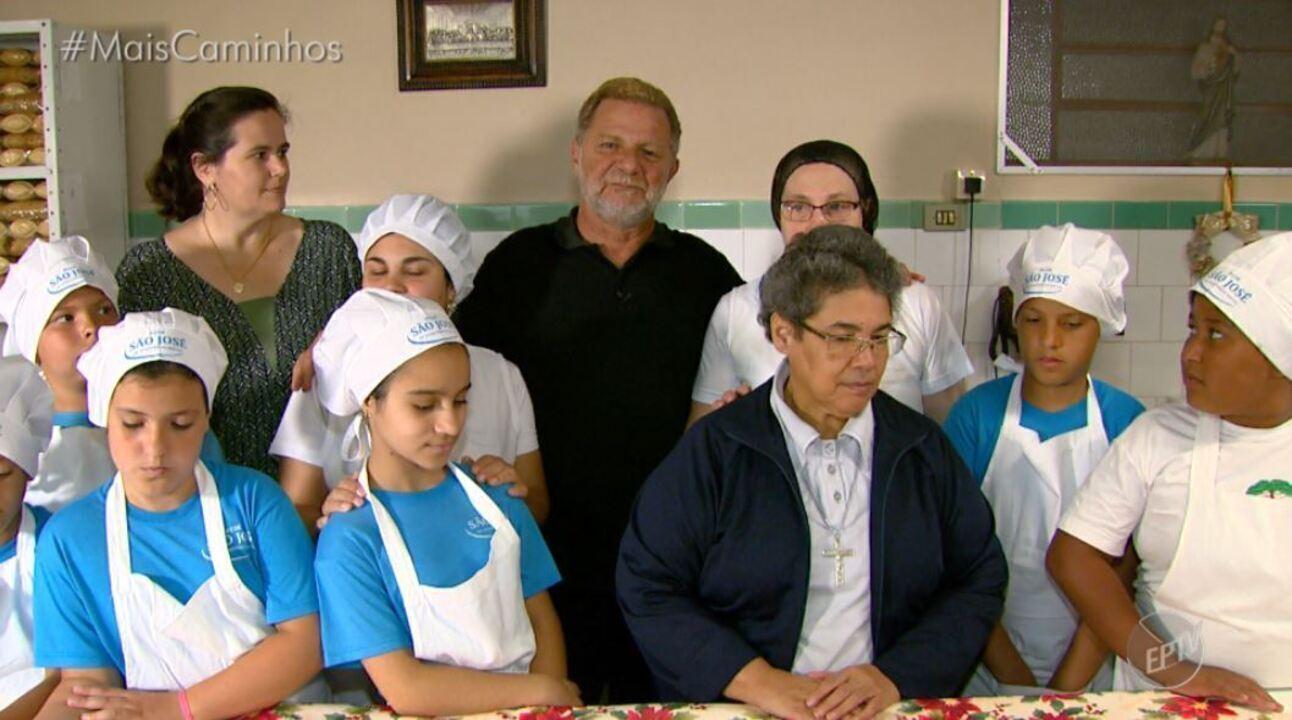 A tradição italiana é destaque no quadro 'Segredos na Cozinha'