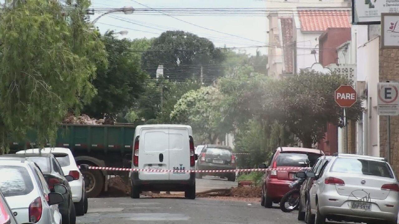 Vazamento de gás provoca medo e tensão no Centro de São Carlos, SP