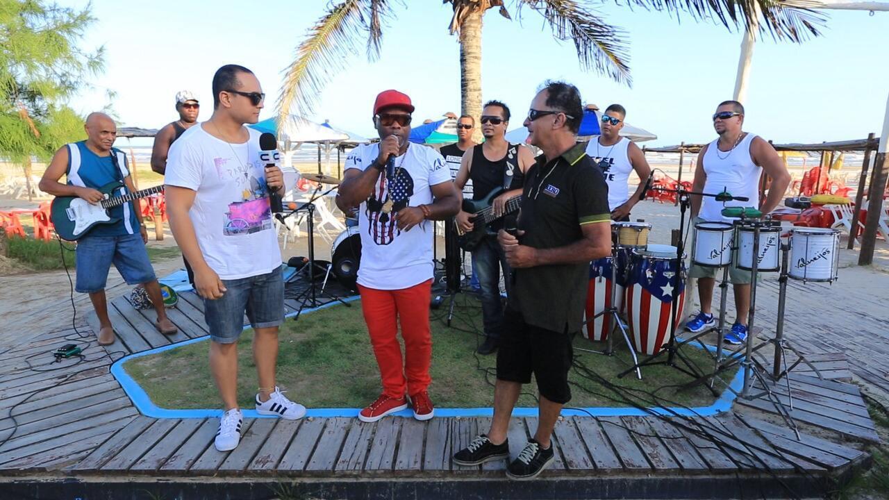 'Levando um Som' com a banda Valneijós