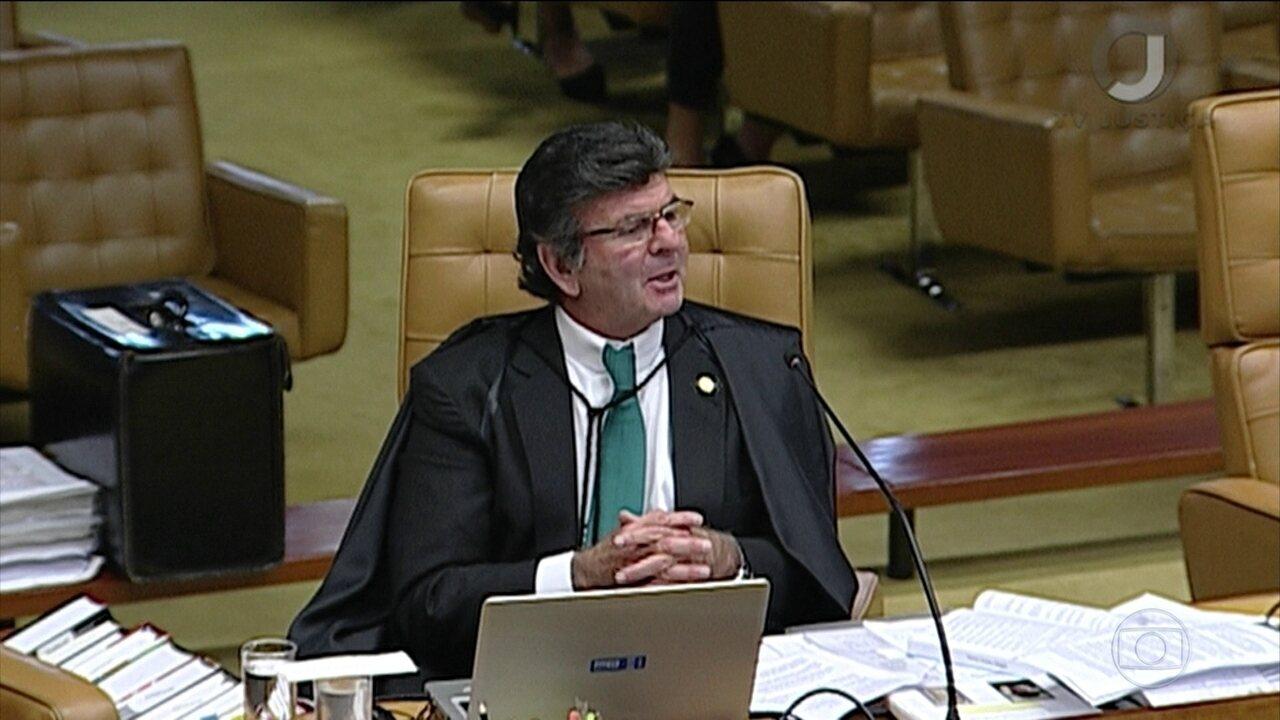 Veja como votou Luiz Fux no julgamento sobre se assembleias legislativas podem revogar prisão de deputados